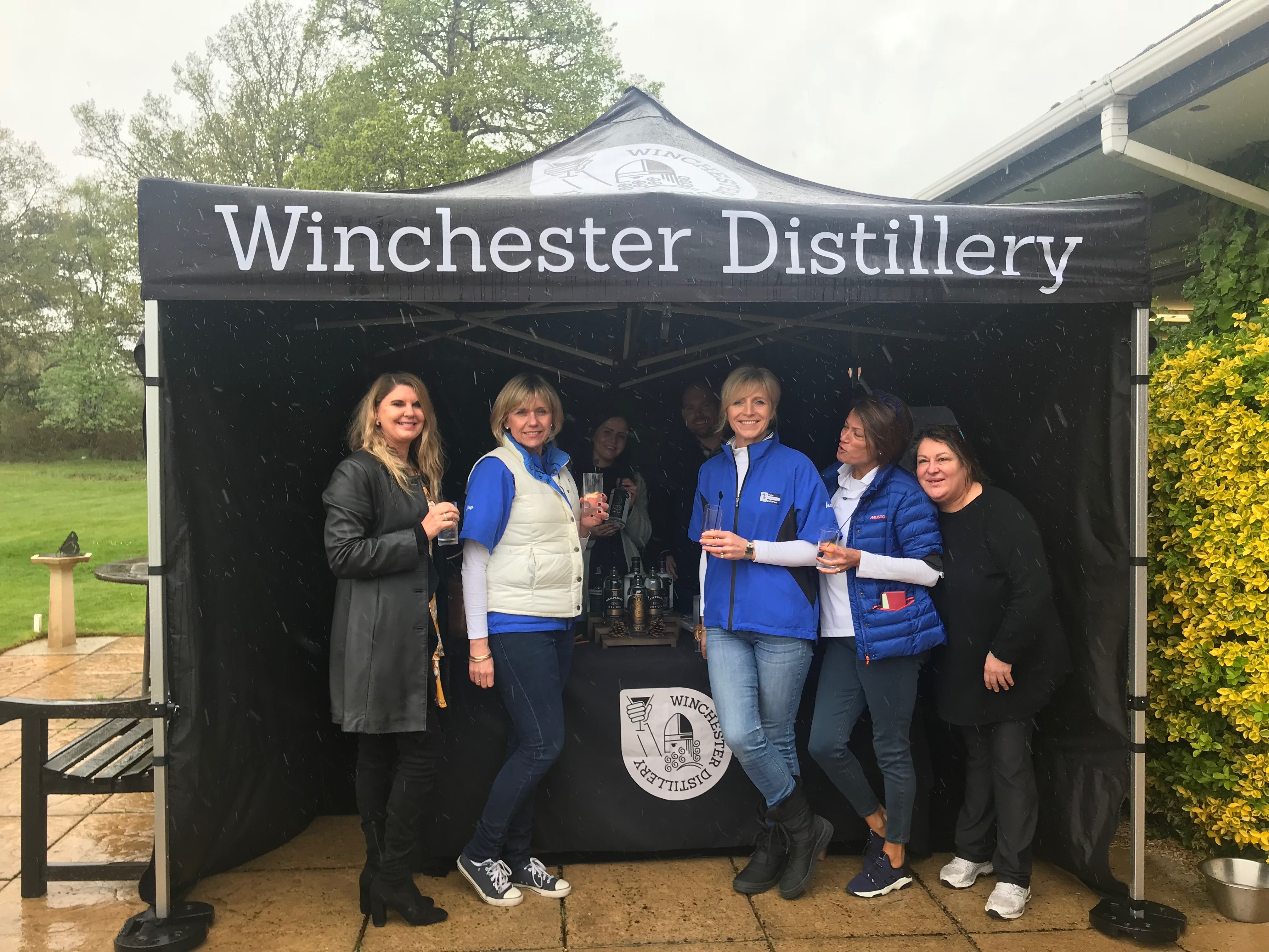 Winchester Distillery at HAC Hankley Common Golf day