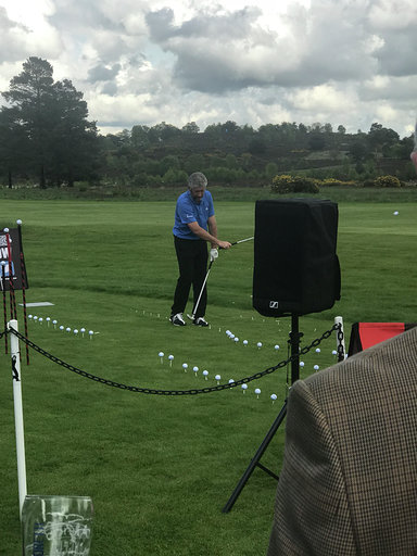 Trick Shots at HAC Golf Day